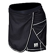 Womens De Soto Carrera Tri With Removable Wrap Skirt Unlined Shorts