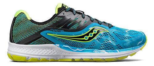 Mens Saucony Ride 10 Running Shoe - Ocean Wave 9
