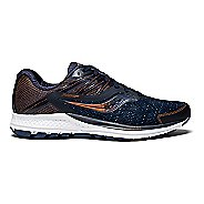 Womens Saucony Ride 10 Running Shoe - Navy Denim 7