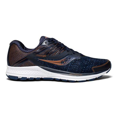 Womens Saucony Ride 10 Running Shoe - Navy Denim 10.5