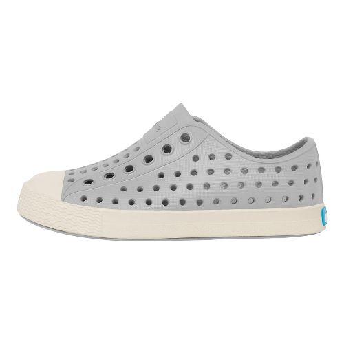 Kids Native Jefferson Casual Shoe - Grey/White 9C