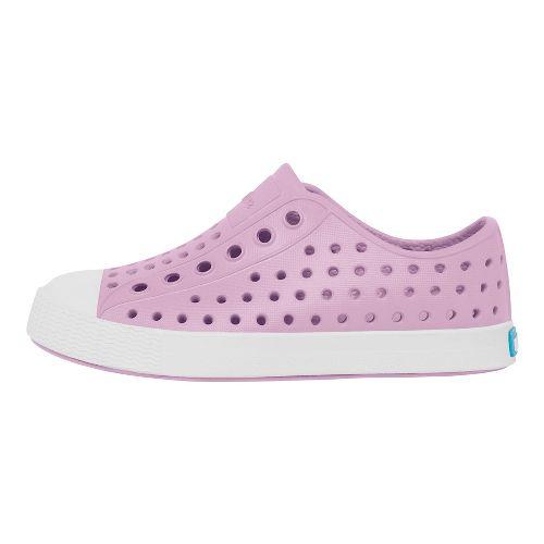 Kids Native Jefferson Casual Shoe - Lavender/White 12C