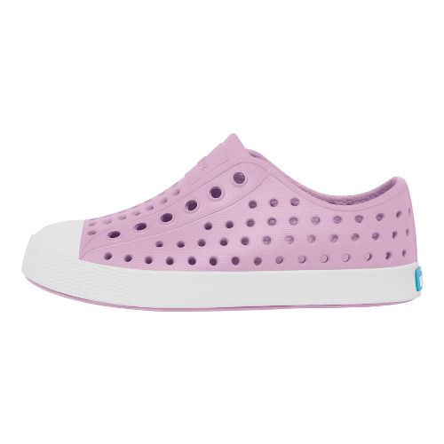 Kids Native Jefferson Casual Shoe - Lavender/White 8C