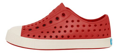 Kids Native Jefferson Casual Shoe - Red/White 6C