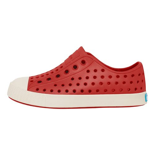 Kids Native Jefferson Casual Shoe - Red/White 12C