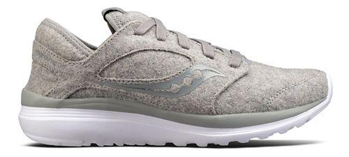 Womens Saucony Kineta Relay Wool Casual Shoe - Grey 10.5