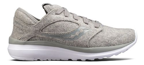 Womens Saucony Kineta Relay Wool Casual Shoe - Grey 9