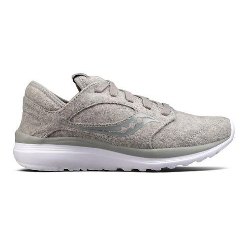 Womens Saucony Kineta Relay Wool Casual Shoe - Grey 7.5