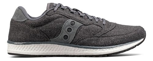 Womens Saucony Freedom Runner Wool Casual Shoe - Charcoal 5.5