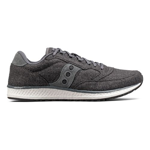Womens Saucony Freedom Runner Wool Casual Shoe - Charcoal 11