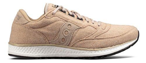 Womens Saucony Freedom Runner Wool Casual Shoe - Tan 5.5