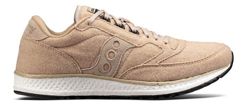 Womens Saucony Freedom Runner Wool Casual Shoe - Tan 8.5