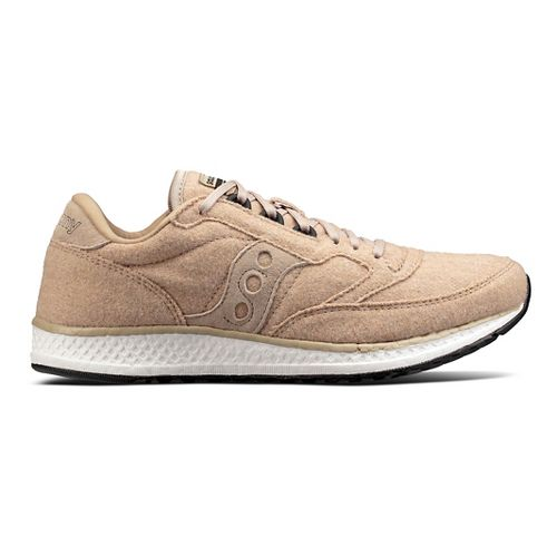 Womens Saucony Freedom Runner Wool Casual Shoe - Tan 6.5