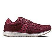 Womens Saucony Freedom Runner Wool Casual Shoe - Burgundy 10