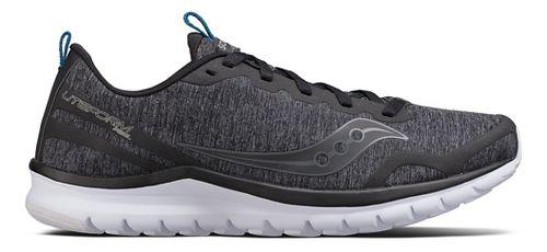 Mens Saucony Liteform Feel Casual Shoe - Black 11