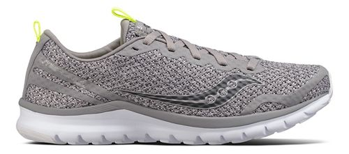Mens Saucony Liteform Feel Casual Shoe - Grey/Grey 8
