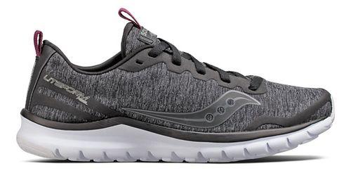 Womens Saucony Liteform Feel Casual Shoe - Black 6