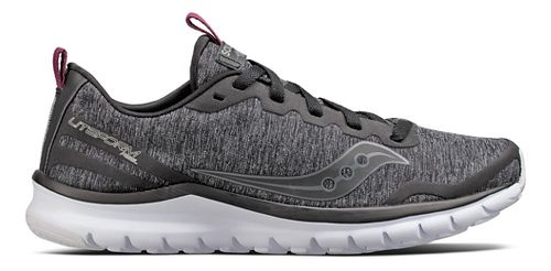 Womens Saucony Liteform Feel Casual Shoe - Grey 6.5