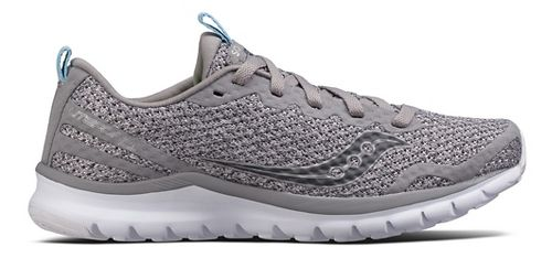 Womens Saucony Liteform Feel Casual Shoe - Grey 10