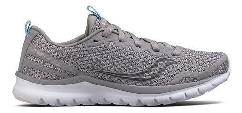 Womens Saucony Liteform Feel Casual Shoe - Grey 7.5