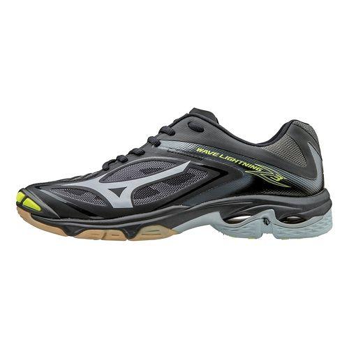 Mens Mizuno Wave Lightning Z3 Court Shoe - Black/Silver 11.5
