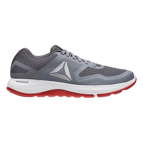 Mens Reebok Astroride Duo Running Shoe - Grey/Silver 12