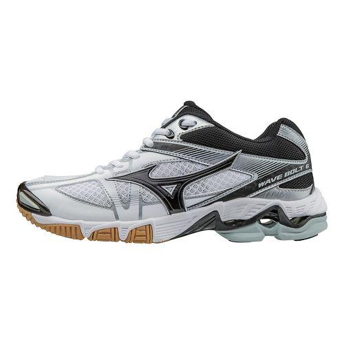 Womens Mizuno Wave Bolt 6 Court Shoe - White/Black 9