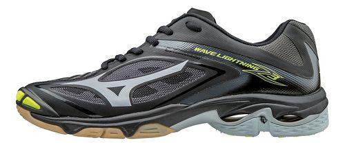 Womens Mizuno Wave Lightning Z3 Court Shoe - Black/Silver 10