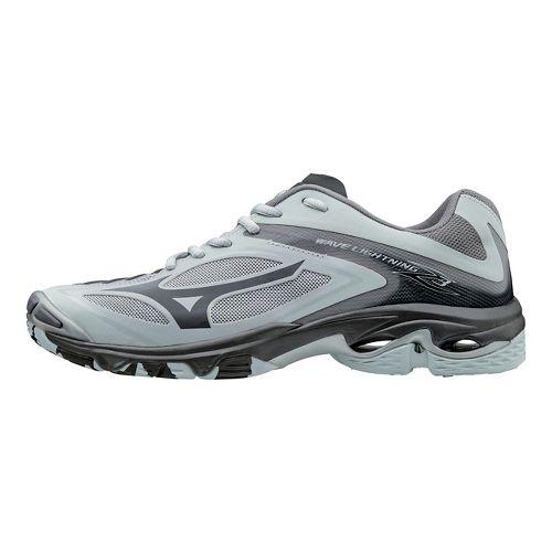 Womens Mizuno Wave Lightning Z3 Court Shoe - Grey 8