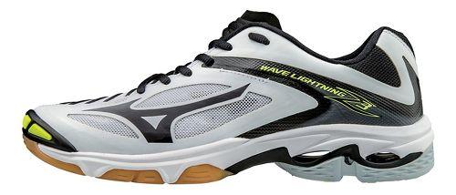 Womens Mizuno Wave Lightning Z3 Court Shoe - Stars/Stripes 13