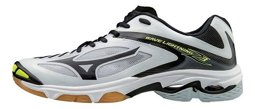 Womens Mizuno Wave Lightning Z3 Court Shoe - Black/Yellow 7