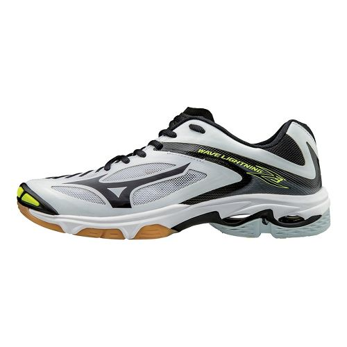 Womens Mizuno Wave Lightning Z3 Court Shoe - White/Black 10