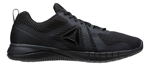 Mens Reebok Print Run 2.0 Running Shoe - Black/Coal 11.5