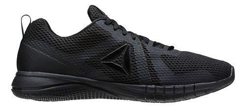 Mens Reebok Print Run 2.0 Running Shoe - Black/Coal 13