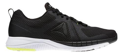 Mens Reebok Print Run 2.0 Running Shoe - Black/White 7