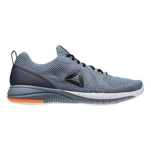 Mens Reebok Print Run 2.0 Running Shoe - Grey/Black 9.5
