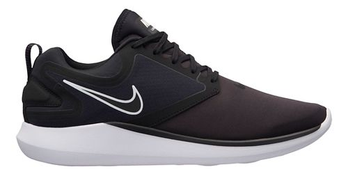 Mens Nike LunarSolo Running Shoe - Black/Black 10