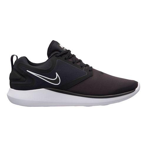 Mens Nike LunarSolo Running Shoe - Black/Black 10.5