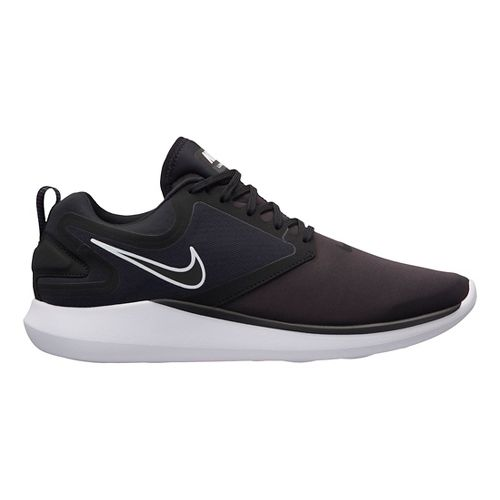 Mens Nike LunarSolo Running Shoe - Black/Black 11