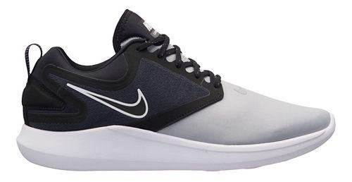 Mens Nike LunarSolo Running Shoe - Grey/Black 12