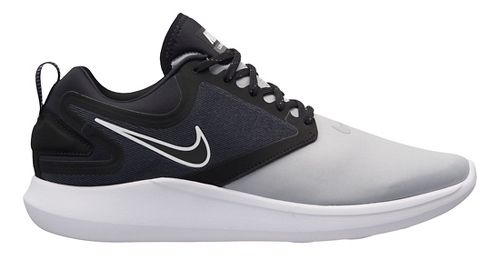 Mens Nike LunarSolo Running Shoe - Grey/Black 8.5