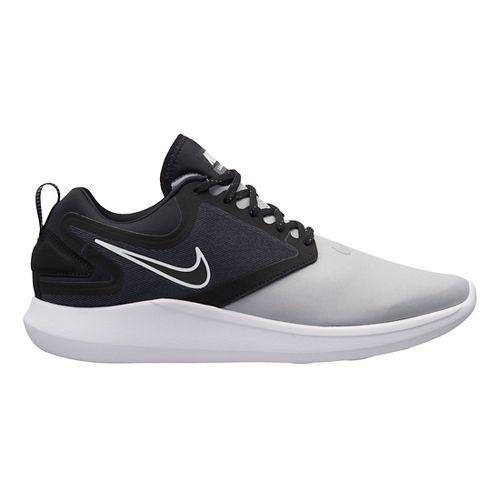 Mens Nike LunarSolo Running Shoe - Grey/Black 10