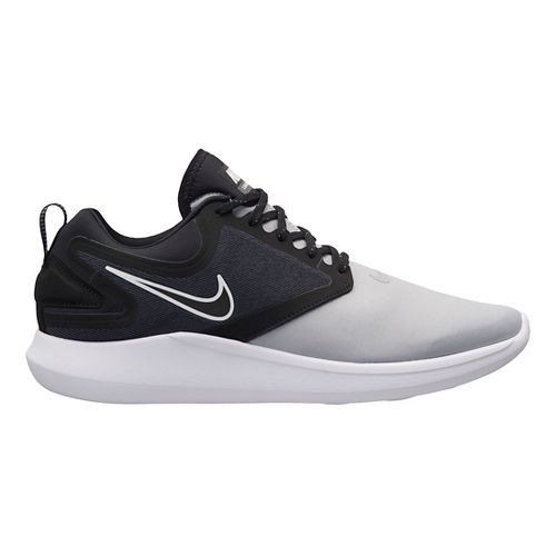 Mens Nike LunarSolo Running Shoe - Grey/Black 11