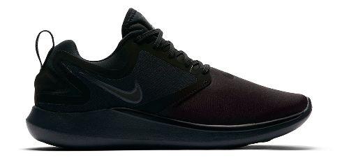 Womens Nike LunarSolo Running Shoe - Black/Black 10