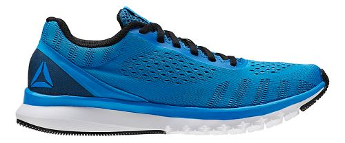 Mens Reebok Print Smooth ULTK Running Shoe - Blue/Black 13