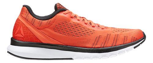 Mens Reebok Print Smooth ULTK Running Shoe - Orange/Black 10