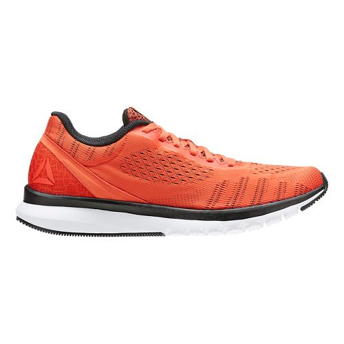 Mens Reebok Print Smooth ULTK Running Shoe - Orange/Black 9