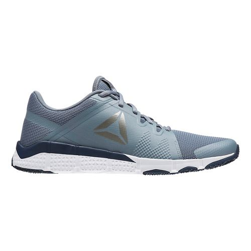 Mens Reebok Trainflex Cross Training Shoe - Grey/Silver 12