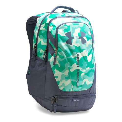 Under Armour Hustle 3.0 Backpack Bags - Blue Infinity/Grey