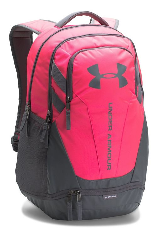 Under Armour Hustle 3.0 Backpack Bags - Penta Pink/Graphite